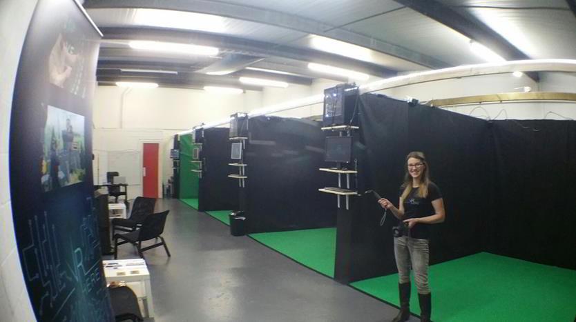 Virtual Reality room at Top VR